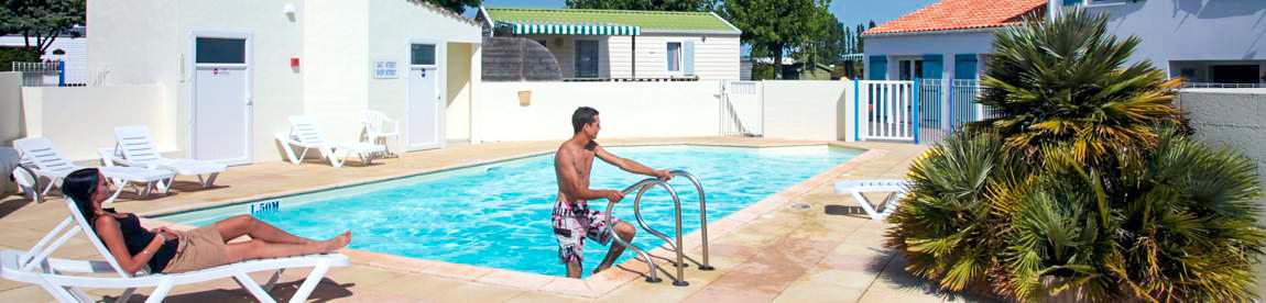 Camping piscine saint jean de monts camping le logis 3 - Camping saint jean de luz avec piscine ...