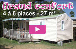 Mobil home Grand Confort le Logis Camping Saint Jean de Monts
