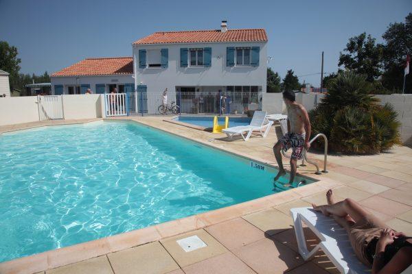 Camping avec piscine chauffée en Vendée au Logis