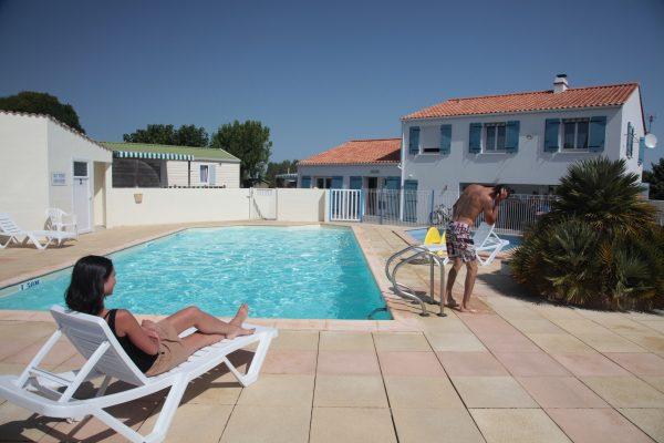 Camping avec piscine chauffée 3 étoiles à Saint Jean de Monts le Logis