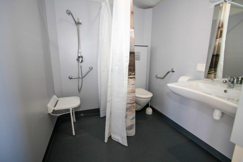 salle d'eau mobil-home pmr handicapé camping saint jean de monts
